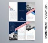 brochure design  brochure... | Shutterstock .eps vector #729024304