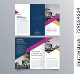 brochure design  brochure... | Shutterstock .eps vector #729024334