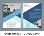 abstract minimal geometric... | Shutterstock .eps vector #729029590