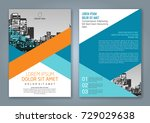 abstract minimal geometric... | Shutterstock .eps vector #729029638