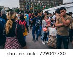 mexico   september 20  people... | Shutterstock . vector #729042730