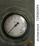 Small photo of An Air Pressure Meter in black box