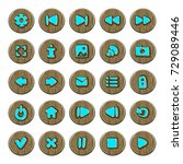 set of button for game design....