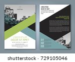 abstract minimal geometric... | Shutterstock .eps vector #729105046