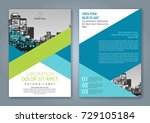 abstract minimal geometric... | Shutterstock .eps vector #729105184