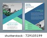 abstract minimal geometric... | Shutterstock .eps vector #729105199