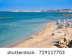 paphos  cyprus   july 16 2017 ... | Shutterstock . vector #729117703
