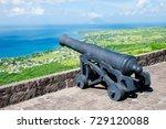 cannon brimstone hill fort  st. ... | Shutterstock . vector #729120088