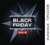 black friday sale. volume...   Shutterstock .eps vector #729122338