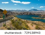 Lake Mohave at Lake Mead National Recreation Area near Bullhead City, Arizona, USA