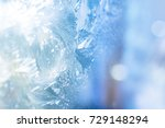 natural ice  cool winter...   Shutterstock . vector #729148294