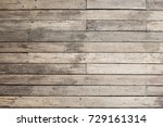 old vintage outdoor wood with... | Shutterstock . vector #729161314