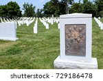arlington national cemetery is... | Shutterstock . vector #729186478