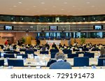 committee meeting  inquiry of... | Shutterstock . vector #729191473