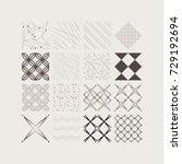 monochrome vector backgrounds... | Shutterstock .eps vector #729192694