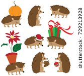 colorful vector set of cute