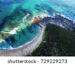 blanket bay coastline | Shutterstock . vector #729229273