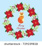 vector illustration of merry...   Shutterstock .eps vector #729239818