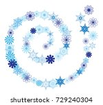 vector illustration of winter...   Shutterstock .eps vector #729240304
