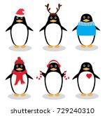 vector illustration of funny... | Shutterstock .eps vector #729240310
