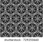 modern stylish texture.... | Shutterstock . vector #729253660