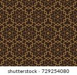 modern stylish texture....   Shutterstock . vector #729254080