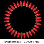 chili icon | Shutterstock .eps vector #729254788
