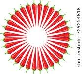 chili icon | Shutterstock .eps vector #729254818