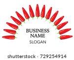 chili icon | Shutterstock .eps vector #729254914