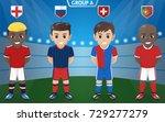 vector character of football  ...   Shutterstock .eps vector #729277279