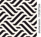 vector seamless pattern. modern ... | Shutterstock .eps vector #729287266