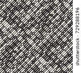 vector seamless black and white ... | Shutterstock .eps vector #729288196