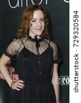 Small photo of New York, NY - October 6, 2017: Olivia Hack attends the annual Heroes After Dark event at Highline Ballroom as prt of New York Comic Con
