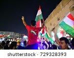 erbil iraq  september 25  kurds ... | Shutterstock . vector #729328393