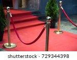 red carpet | Shutterstock . vector #729344398