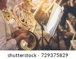 Musicians Playing French Horn...