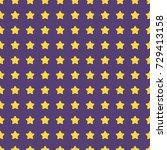 nice cartoon star pattern with... | Shutterstock .eps vector #729413158