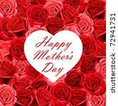 Mother\'s Day Heart Shaped Card...
