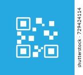 qr code icon vector | Shutterstock .eps vector #729424114