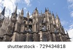 details of cologne cathedral... | Shutterstock . vector #729434818