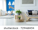 multifunctional apartment with...   Shutterstock . vector #729468454