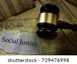 social justice news headline... | Shutterstock . vector #729476998