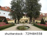 garden and park location | Shutterstock . vector #729484558
