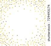 golden tinsel texture on a... | Shutterstock .eps vector #729493174