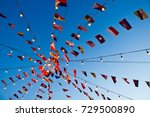 different flags of southeast... | Shutterstock . vector #729500890
