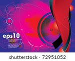 abstract red background   eps... | Shutterstock .eps vector #72951052