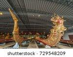 thai royal barge | Shutterstock . vector #729548209