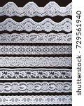 white ornamentaltion lace... | Shutterstock . vector #729561940