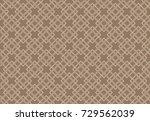 cross pattern vector design for ... | Shutterstock .eps vector #729562039