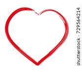 heart icon. love outline icon   Shutterstock .eps vector #729564214
